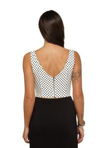 back of crop top cottonon