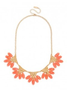 coral necklace baublebar