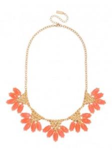 coral necklace baublebar