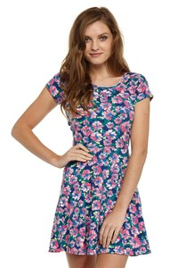 floral cottonon dress