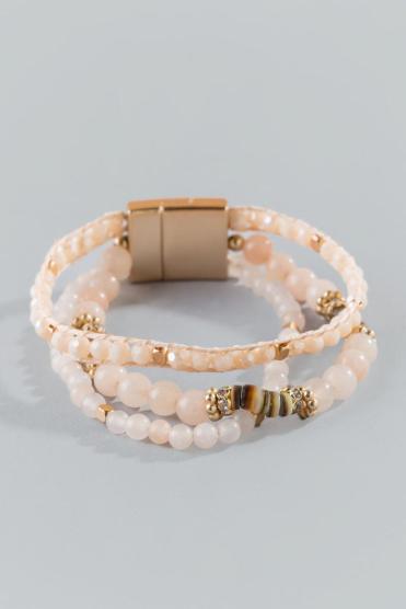 Alexa Multi-Strand Beaded Bracelet