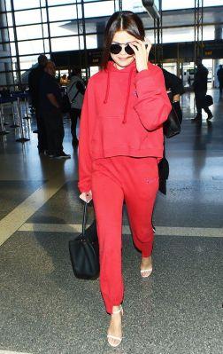Selena Gomez Champion Outfit